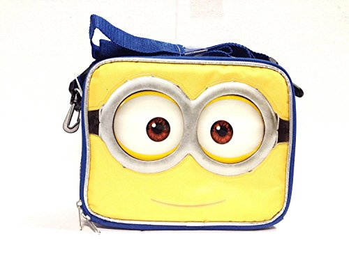 2015 New Despicable Me Minions 3D Eyes Lunch Bag-2502 by AI