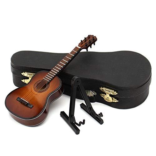 XIHUANNI Guitarras de réplica miniatura ornamentales, mini guitarra clásica, modelo de guitarra...