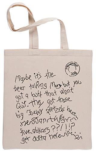 Maybe It's The Beer Talking! Bolsa De Compras Shopping Bag Beige