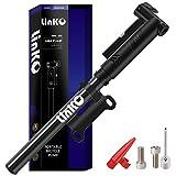Linko Mini Fahrradpumpe mit Manometer für Presta & Schrader Ventile