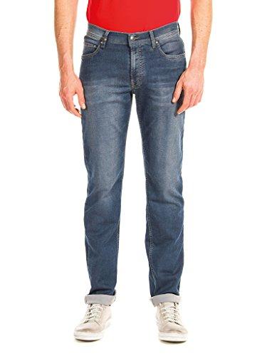 Carrera Jeans - Jeans Passport per Uomo, Modello Dritto, Tessuto Elasticizzato, vestibilità Normale, Vita Regular