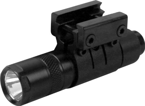 AIM SPORTS 90 Lumens Flashlight with Mount/Pressure Switch