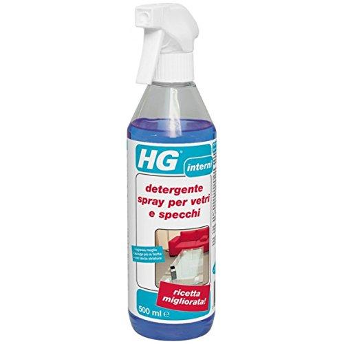 HG - HG detergente spray per vetri e specchi