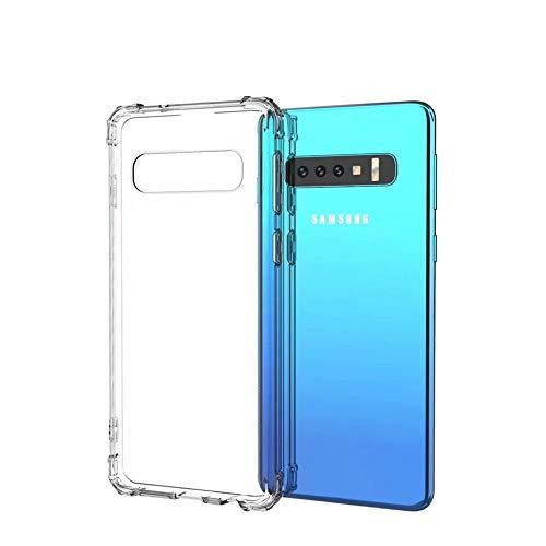 """Capa Anti Shock Samsung Galaxy S10 Plus 6.4"""",Fse Acessórios, Capa Anti-Impacto, Transparente"""