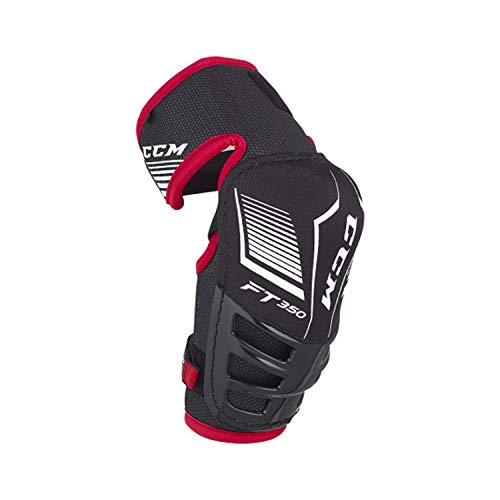 CCM Jetspeed Ft350 Senior Elbow Pads Black/Red L