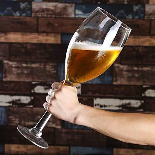 Weinglas Extra Large übergroße Riesen großen Kapazitäts-Bierglas Großes Becher Whisky Xuan - Worth Having (Size : 3300ML)