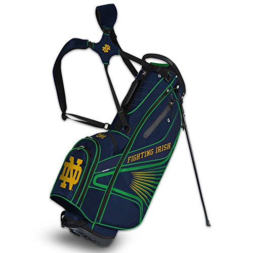 Team Effort NCAA Notre Dame Fighting Irish Notre Dame Fighting Irish Caddie Carry Bag, Multi, NA