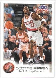 Scottie Pippen 1999-00 Fleer Focus Portland Trail Blazers Card #25