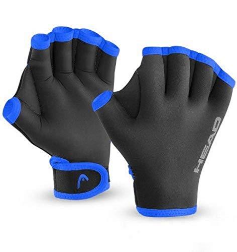 Head Swim Glove, Black Blue
