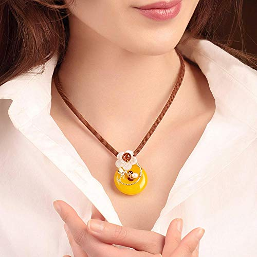 Halsketting hanger sleutelbeenketting ketting vrede gesp hanger retro halsketting eenvoudige schelp accessoires sleutelbeen ketting sieraad decoraties
