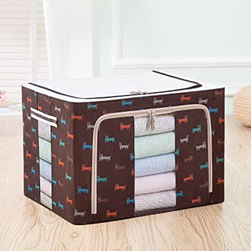 Colección de caja de marco de acero, almacenamiento en el hogar, bolsas, armario plegable de tela Oxford