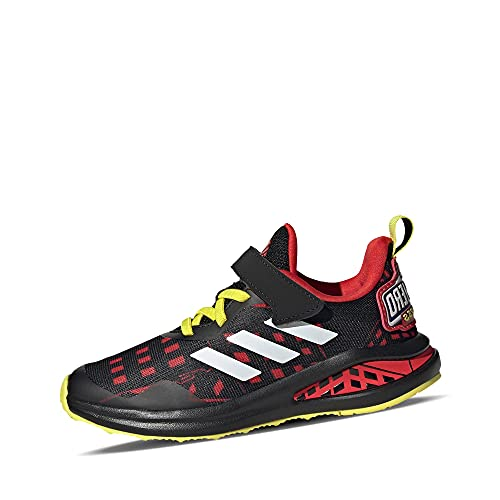 adidas Fortarun Superhero C, Zapatillas de Running, NEGBÁS/FTWBLA/Rojint, 32 EU