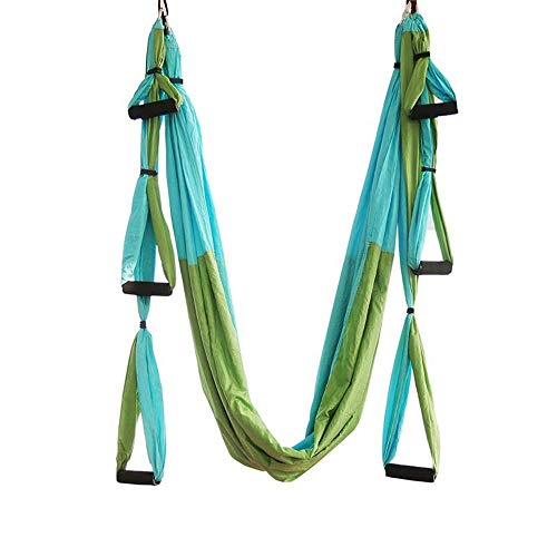 Fantastic Deal! Limaomao Aerial Yoga Swing Inverted Yoga Hammock Aerial Yoga Hammock Inverted with H...