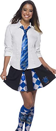 Rubies Corbata oficial de Harry Potter Ravenclaw, accesorio de disfraz para adultos o niños, talla única edad 6 años
