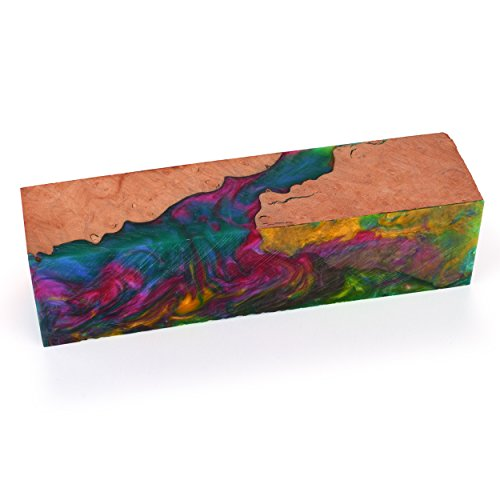 Fiji Rainbow Handle Blank 1-1/2' x 1-1/2' x 6'