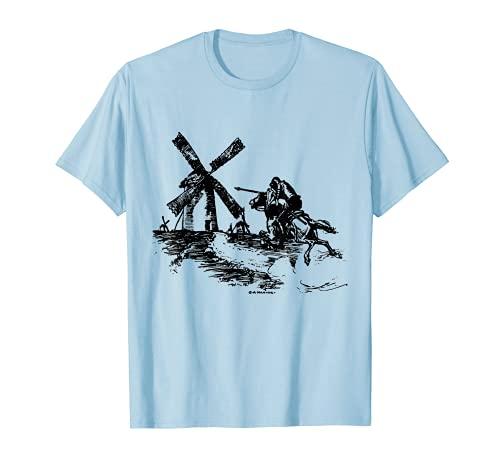Don Quixote kämpft gegen Windmühlen Don Quichotte