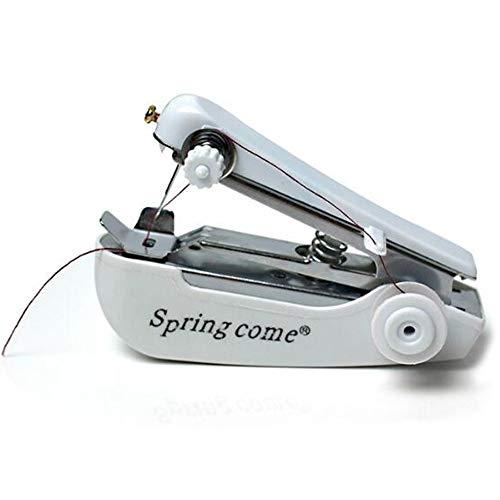 Draagbare Mini Naaimachine Kleding Doek Stof Handheld Naaien Tool Naaldwerk Cordless