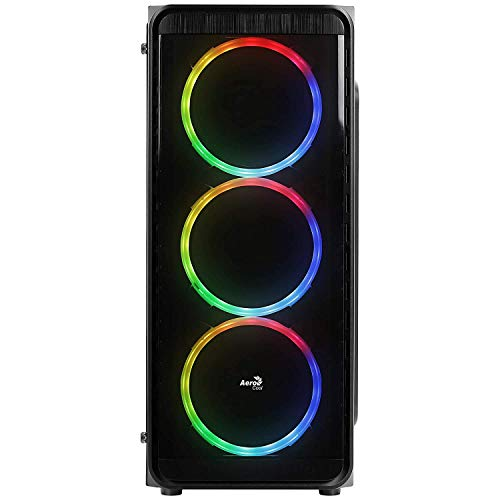 No Doubt Gaming PC Computer AMD Ryzen 5 (16 GB RAM DDR4/1 TB Hard Disk/120GB SSD/4 GB Graphics) (GAMING PC) (GeForce GTX 1050 Ti 4GB OC Edition GDDR5 Gaming Graphics Card, 3 RGB Cooling Fans with Controller)