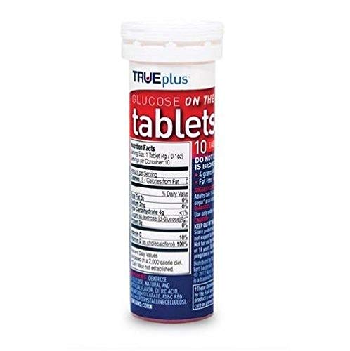 buy  TRUEplus® Glucose Tablets, Raspberry Flavor ... Blood Test Strips