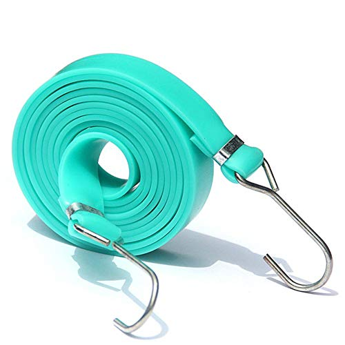 Bungee Plana Ajustable Cable Plano Bungee Cordones con Bungees 70.86in, Mano Carros,...