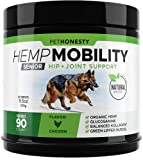 Eases Joint Stiffness in Senior Dogs Due to Normal Daily Activity - As dogs age, discomfort can occur in the hips and joints, which can lead to reduced movement and arthritis pain. With our Senior Hemp Mobility chews, a powerful combination of ingred...