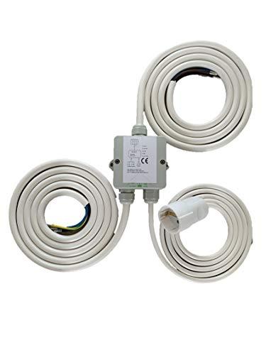 Herdanschlusskabel Power Splitter Herdverteiler Stromverteiler Backofenverteiler Induktion