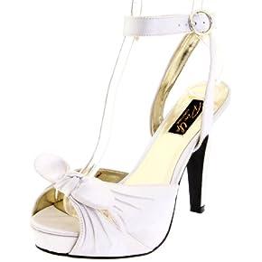 Pleaser Women's Bettie-04/IV Ankle-Strap Sandal