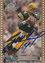 Brett Favre Greenbay Autograph On Card with Certificate of Authenticity