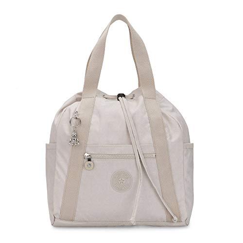 Kipling Womens Art Small Tote Backpack Galaxy Twist Grey One Size