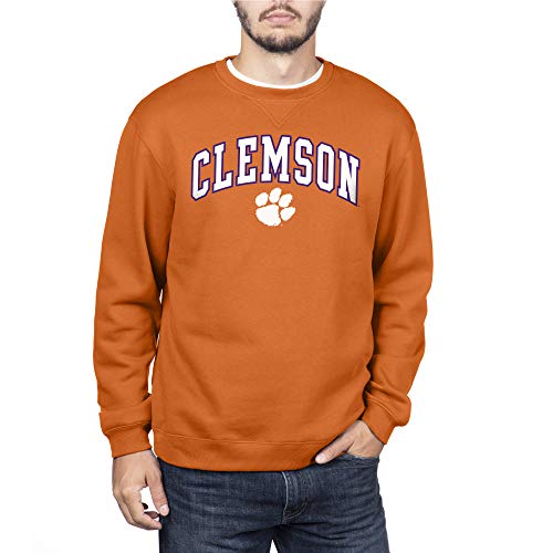 Top of the World Clemson Tigers Men's Team Color Crewneck Sweatshirt, X-Large
