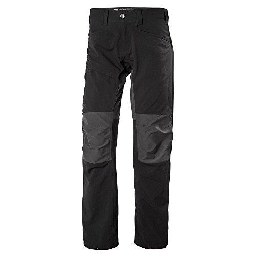 Helly-Hansen Men's Vanir Hybrid Outdoor Hiking Pants, Black, Large