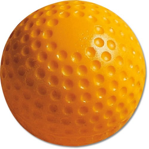 MacGregor Dimpled Baseballs Yellow 9inch One Dozen