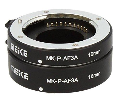 Impulsfoto Automatik Zwischenringe 2-teilig 10mm & 16mm Fuer Makrofotographie passend zu Panasonic & Olympus (Micro Four Third) **Metall Kontakt**