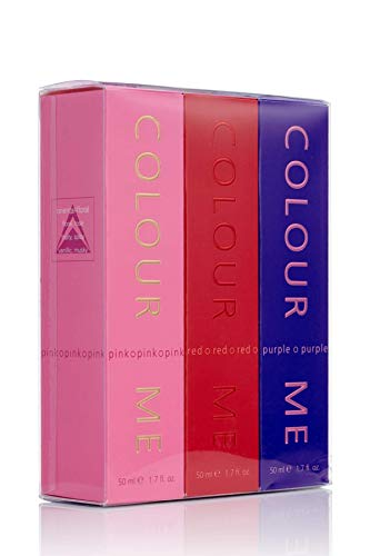 Colour Me Pink/Purple/Red - Fragrance for Women - 50ml Eau de Toilette, by Milton-Lloyd