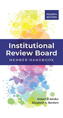 41zOXtNq1YL - Institutional Review Board: Member Handbook