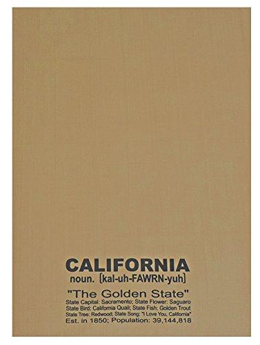 Diccionario Decor caqui Estado Dish toalla California el Golden State