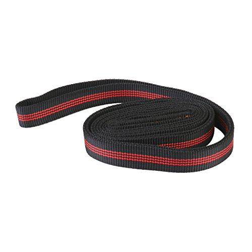 Polyester Escalade Elingue Sangle De Roulement Corde Extérieure Protecteur 120cm Noir