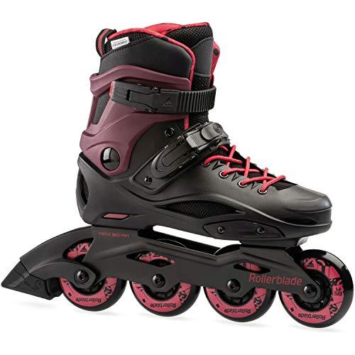 Rollerblade RB Cruiser W Skates Schwarz, Damen, Black/Sangria, 240