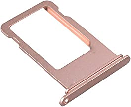 ATEANO Sim Card Tray Holder Slot Replacement Part For Iphone 7 Plus (5.5'') Rose Gold