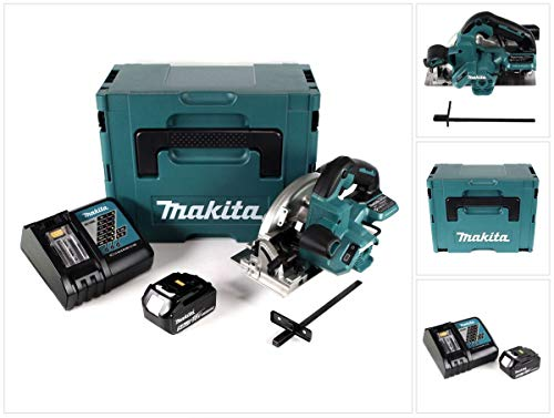 Makita DHS 660 RT1J Accu cirkelzaag 18V 165mm in Makpac + 1x 5,0Ah accu + oplader