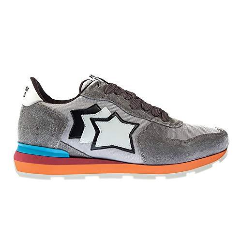 Atlantic Stars Antares CS 85c Sneaker, 43, Silver