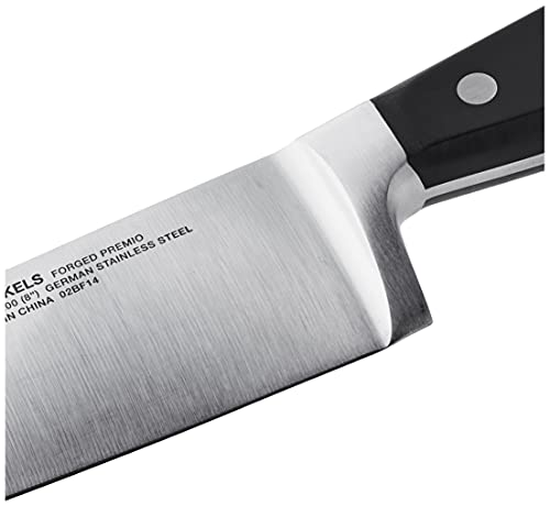 J.A. Henckels International Forged Premio 8-Inch Chef -,Black