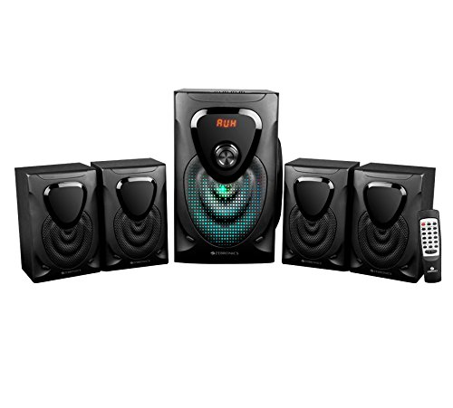 Zebronics Opera 4.1 Channel Multi Media Speaker (Black)