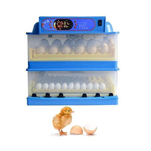 GAOXQ La incubadora agrega automáticamente el Agua, y el criadero de Aves de Corral automático de Huevo Digital Convierte los Huevos, Usados para eclosionar Pavos, Ganso 112Egg
