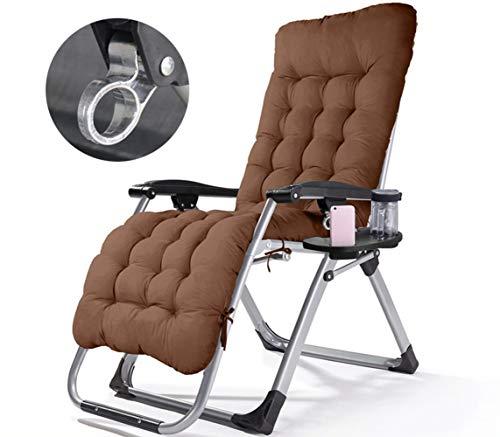 Poooooi Verstellbare Klappliegestühle Freizeit Stuhl Bürostuhl Mittagessen Balkon Couch Schaukelstuhl Mit Einem Becherhalter Schale,08