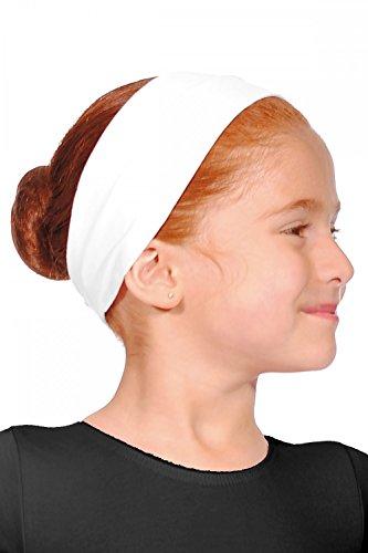 Roch Valley Stirnband aus Baumwolle Weiß