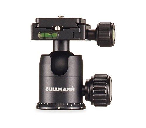 Cullmann Mundo mub2.5b Kugelkopf aus Aluminium – schwarz
