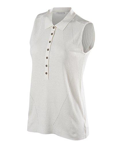 Falke Poloshirt voor dames, zonder mouwen, zijde/linnen, 1 stuks, versch. Kleuren, maat XS-XXL - vochtregulerend, sneldrogend, hoog draagcomfort.