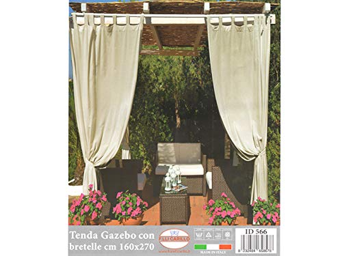 vivi casa Tenda da Gazebo 160 x 270 cm con Bretelle ARREDO Giardino Esterno