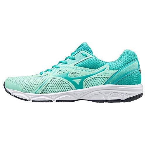 Mizuno Spark 5 (W), Zapatillas para Correr para Mujer, Ceramic/IGreen